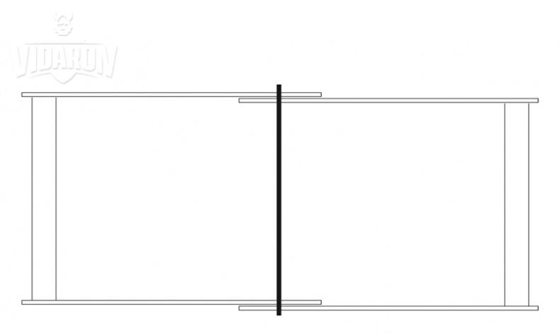 Schemat do montażu kantówek z deską